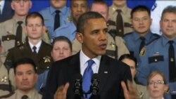 奧巴馬談論槍械管控