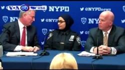 Mỹ: Nữ cảnh sát bị đánh vì theo đạo Hồi (VOA60)