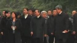 台湾陆委会主委王郁琦谒南京中山陵