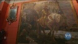 У Вашингтоні передали Україні картину «Таємний виїзд Івана Грозного перед опричниною». Відео