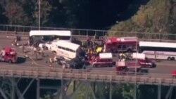 西雅圖兩輛大巴相撞 四死40餘傷
