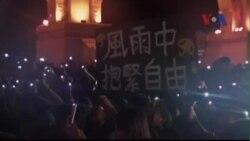 Hàng ngàn người biểu tình ở Đài Loan ủng hộ Hồng Kông