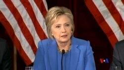 2016-03-26 美國之音視頻新聞: 阿拉斯加等三個州舉行民主黨黨內初選