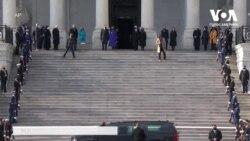 Церемонія Інавгурації: Камала Гарріс провела Майка Пенса із Капітолію. Відео