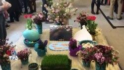 گزارش بهنام ناطقی از یک جشن نوروزی در نیویورک برای آشنایی فرزندان ایرانی تبار و آمریکایی