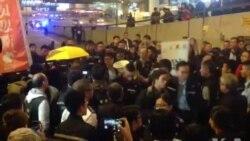 实时报道:香港警方全面清场金钟占领区