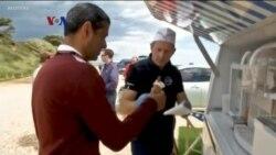 Mobil Es Krim Tenaga Listrik Perangi Polusi Udara