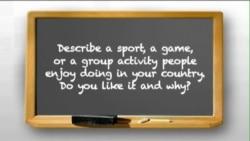 Nói tiếng Anh với người bản xứ (Luyện thi TOEFL): What is your favorite sport?