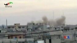 2015-12-30 美國之音視頻新聞: 美國指俄羅斯空襲造成敘利亞平民死亡令人不安
