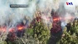 Hawaii'de Yanardağ Patladı: Lavlar Yerleşim Yerlerine Ulaştı