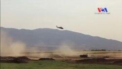 Helikopter de Irak Sınırında Tatbikatta