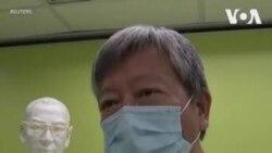 香港活動人士參加劉曉波逝世三週年紀念儀式