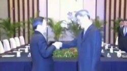 美称台海两岸历史性会谈为重要发展