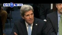 John Kerry điều trần cho chức Bộ trưởng Ngoại giao
