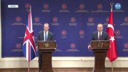 Çavuşoğlu ve Raab Ortak Basın Toplantısı
