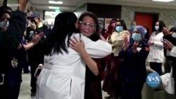 В Каліфорнії медсестра, яка заразилася на COVID-19, одужала після 8 місяців боротьби за своє життя. Відео
