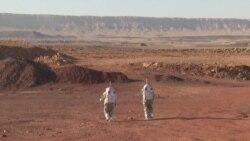İsrail'in Negev Çölünde Mars'ta Hayat Simülasyonu