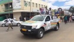Parading for Mugabe ...