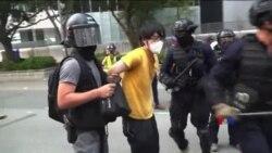 """2019-09-30 美國之音視頻新聞: """"十一""""臨近香港氣氛緊張"""