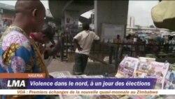 Violence dans le nord du Nigeria, à un jour des élections