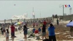 NASA Kargo Yüklü Uzay Aracını Florida'dan Fırlattı