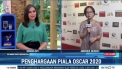 Laporan VOA untuk MetroTV: Penghargaan Oscar 2020