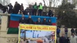 """Əli Kərimlinin """"Talana son!"""" mitinqində çıxışı-1"""