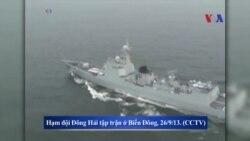 Trung Quốc đưa ba tàu đổ bộ vào Biển Đông