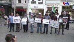 Suriye'deki Tutuklular İçin İstanbul'da Eylem