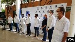A pesar de numerosos esfuerzos, la oposición nicaragüense no logró presentar un frente único contra el presidente Daniel Ortega para las elecciones generales del 7 de noviembre de este año. [Foto: VOA/Daliana Ocaña]
