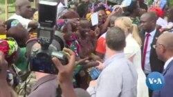 Ivanka Trump danse sur le rythme africain