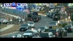 Nổ súng gần Cơ quan An ninh Quốc gia Mỹ (VOA60)