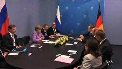 Germany Warns of 'Massive Damage' to Russia Over Crimea Crisis