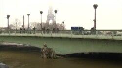 Повінь у Парижі: Річка Сена підніметься майже на 6 метрів, 1500 мешканців евакуйовано. Відео