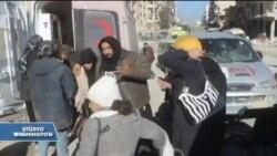 Halep'te Tahliyeler Askıya Alındı