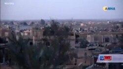 سقوط یک قرارگاۀ داعش در شرق سوریه