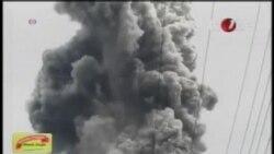 印尼兩座火山噴發