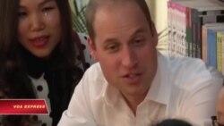 Sau Tổng thống Obama, Hoàng tử William 'gây bão' ở Hà Nội