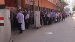EGYPT ELECTIONS VOSOT