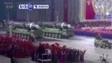 VOA60 DUNIYA: A Koriya ta Arewa, Gwamantin Pyongyang Ta Kara Harba Makamai Masu Linzami Masu Gajeren Zango Guda Biyu A Yau Laraba