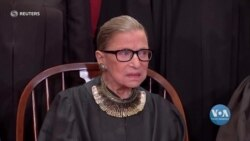 «Вона зламала стільки перешкод». Життя та спадок судді Рут Бейдер Ґінзбурґ. Відео