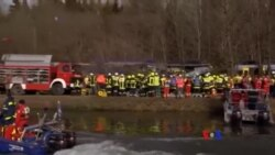 2016-02-09 美國之音視頻新聞: 德國發生火車對撞事故8死約100人傷