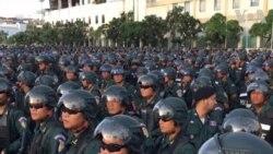 An ninh Campuchia chuẩn bị rầm rộ cho bầu cử