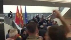 Сурија Рашити, Алијанса на Албанците и Томислав Тунтев, СДСМ - за насилството во Собранието