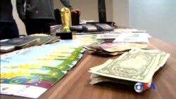2014-07-08 美國之音視頻新聞: 涉嫌非法倒賣世界盃門票多人被捕
