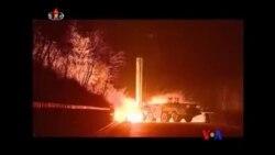 日本和美國譴責北韓發射導彈