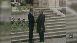 Історичну зустріч Рейґана та Горбачова у 1985-му відтворили на театральній сцені у Чикаго. Відео