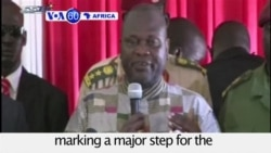 VOA60 Africa - South Sudan Rebel Chief Sworn In as VP