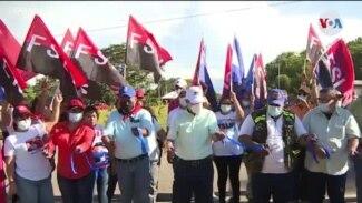 Inicia campaña electoral en Nicaragua con reducida participación
