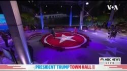 特朗普與拜登異地激辯 直接爭取選民支持